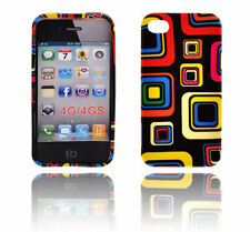 TPU gel silicone case cover Art black for Apple iPhone 4S / iPhone 4