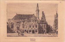 NETHERLANDS - Harleem - Stadhuis - Uitgave van W. de Haan