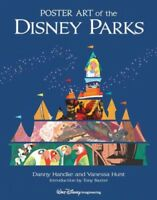 Poster Art of the Disney Parks, School And Library by Handke, Danny; Hunt, Va...