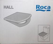 Roca Hall WC Asiento de inodoro y cubierta con bisagras regular 801620004 Blanco