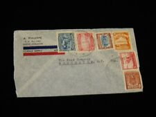 Vintage Cover, QUINTO, ECUADOR, Multi-Franked Airmail, To Rochester, NY, Todd Co