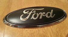 "2011-2014 Ford EDGE liftgate (Rear) emblem,  Matte black 7"" 3D"