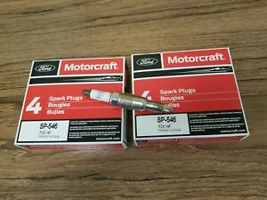 Genuine OEM Ford Motorcraft Spark Plugs SP-546 Set of 8
