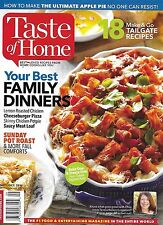 A Taste of Home magazine Best family dinners Tailgate recipes Sunday pot roast