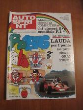 AUTOSPRINT 36/1976 - GP Monza / Lauda / Ferrari / Reutemann / 6 Ore Digione