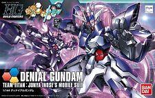 New Bandai HG Build Fighters 037 GUNDAM DENIAL GUNDAM 1/144 scale kit Japan