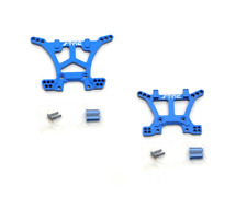Traxxas Slash 4x4 STRC Blue Aluminum Front & Rear Shock Tower Set 4wd