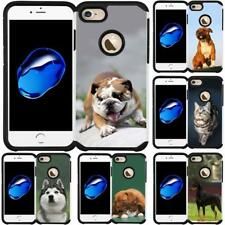 """Dog Cat Puppy Design Case Hybrid Phone Cover for iPhone 7 4.7 Inch iPhone 8 4.7"""""""