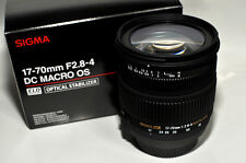 Sigma 17-70mm f/2.8-4 DC Macro OS HSM Lens for Canon 884-101