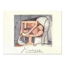 """Pablo Picasso (1881-1973) - """"Femme a la Toilette"""" Original Lithograph, w/ LOA"""