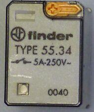 Finder Relais 55.34 24 V AC