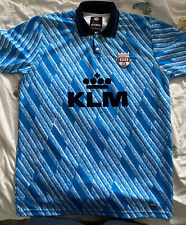 Brentford FC 1992 - 94 Away KLM Retro Football Shirt - Size XXL