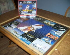 Space Shuttle - White Mountain Puzzle - Pre-Owned
