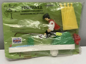 Original 1970s Whirligig FISHWELL - Man with fishing rod moving parts