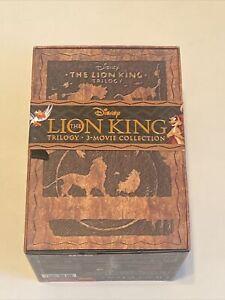 The LION KING Trilogy (Blu-ray/DVD, 2011, 8-Disc Set, Diamond Edition 3D)