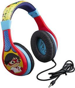Ryans World Kids Headphones with Parental Control, Adjustable Headband, Stereo