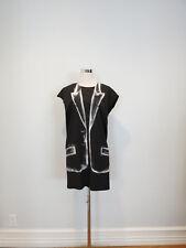 MMM MAISON MARTIN MARGIELA black/white printed dress size 1