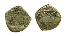 pcc1165_3) Parma - Ranuccio II Farnese 1646-94 Sesino Cu MIR 1046