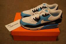 6990d9c87dc439 DEADSTOCK NIKE AIR MAX 90 LEATHER VIVID BLUE SIZE 11