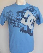 DC Shoes Fiest Bl Men's Blue's T-Shirt Size Small