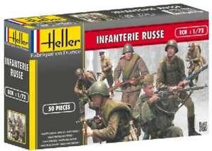 Model Figures - Russian Infantry Kit- 1:72 -Heller 3279510496031