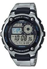 Casio AE-2100WD-1A Sporty 200m Digital Stainless Steel Watch AE-2100WD-1A