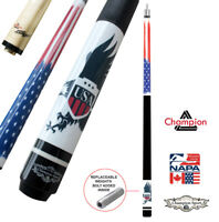 Joint Protector, Very Nice Grip 58 Inch 21oz Maple Pool Cue Stick 13mm Tips
