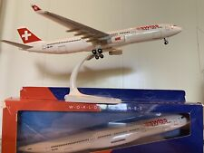 """SWISS Airbus A330-300 Scale 1:200 old livery with """"Swiss cube"""""""