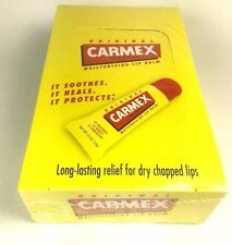 12 Carmex Tube Moisturizing Lip Balm .35 Oz (10 G) Original