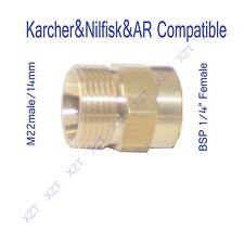 Karcher compatible hose Adaptor M22/14-BSP1/4 female