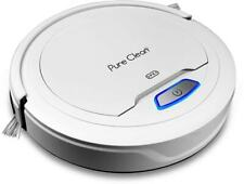 PureClean Automatic Robot Vacuum Cleaner - Robotic Auto Home Cleaning (WHITE)