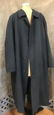 SANYO COAT Charcoal Gray/Off-Black BUTTON-OUT WARMER LINER 46R ACCESSORY POCKETS
