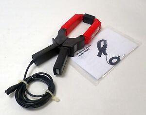 AEMC AC CURRENT PROBE JM861 IN: 5 - 2400 A RMS/9000 A PEAK MAX OUT: 10mV AC/A AC