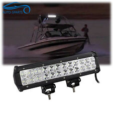 "12"" Inch LED Work Light Bar Marine Boat Part Wellcraft Searay Bayliner"