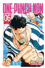 manga One Punch Man tome 6 Anime Yusuke MURATA Seinen Shonen VF Kurokawa ワンパンマン