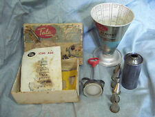 Vintage 1950s' Retro Tala Cooks Measure 1598 plus Vintage Tala Icing Set