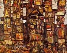 Woodland Prayer by Egon Schiele - Alter Crucifix Saint 8x10 Print Picture 1603