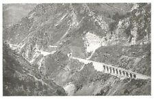 D0688 Viadotti lungo le Rocce Rosse da Fontan a Frontiera - Stampa - 1928 print