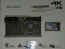 Digital Camera,Vlogging Camera 4.0 Inch Touch Monitor 24MP FHD 1080P Wide Ang...