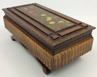 Lovely Wooden Trinket Box - Jewellery- Storage
