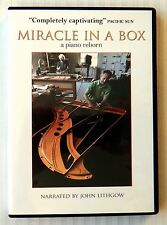 Miracle In A Box - A Piano Reborn ~ Rare DVD Music Movie ~ Steinway Restoration