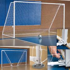 Portable/Foldable Indoor Soccer Goals - 2 Goals & 2 Nets