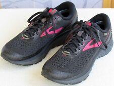10 | Brooks Ghost 11 Women Black Mesh Gore-Tex Athletic Running Shoe