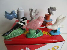 Wade Full  Set Of 6 Bird Whimsies From 2008 Boxed And Perfect