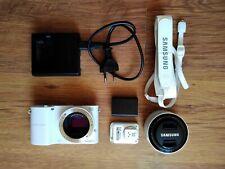 Samsung NX1000 white kit with 20-50 ED lens