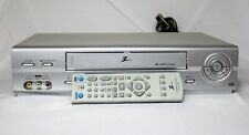 Zenith Vcs442 4 Head Hi-Fi Stereo Vhs Player - Includes remote! Tested! Works!