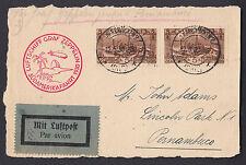 Zeppelin Südamerikafahrt 1931 ab Saargebiet nach Pernambuco (S13127)