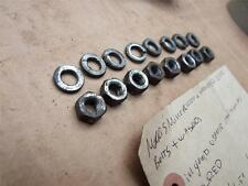 MORRIS MINOR 1000 AND TRAVELLER DIFF  BOLTS AND WASHERS