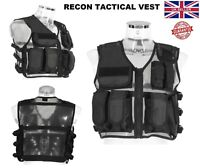 New RECON Tactical Vest Airsoft Military Mag Pouch Combat Assault Hunting Vests