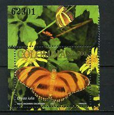 COLOMBIA, 'BUTTERFLIES''   SC 1190a  CARPET SOUVENIR  2002